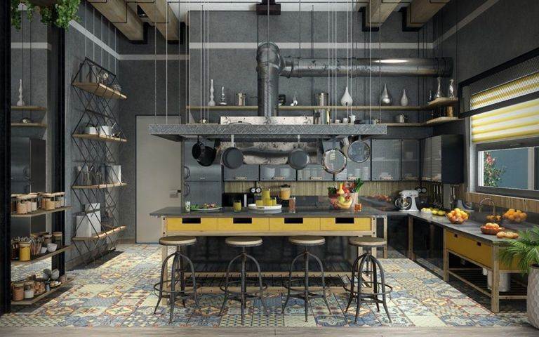 Industrial Home Design Style
