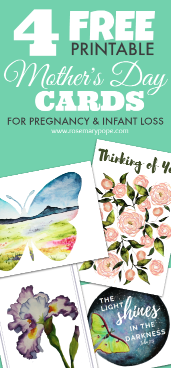 free mothers day cards pregnancy loss infant loss