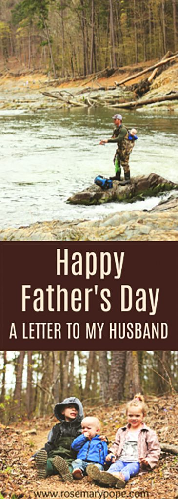 happy fathers day a letter to my husband
