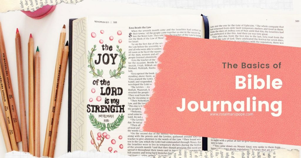 basics of bible journaling