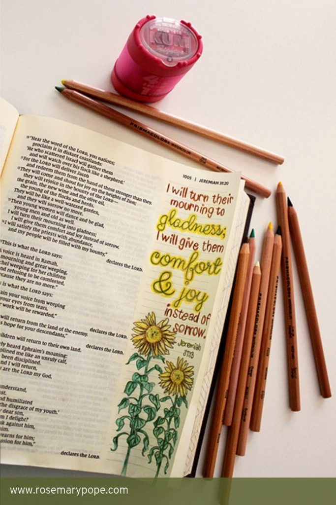 free bible journal printable template