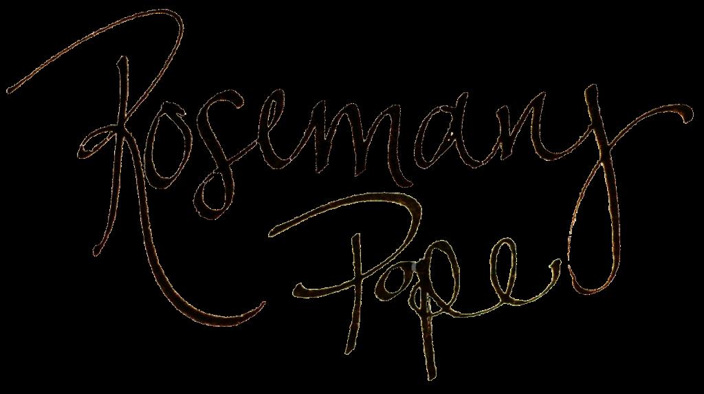rosemary pope signature