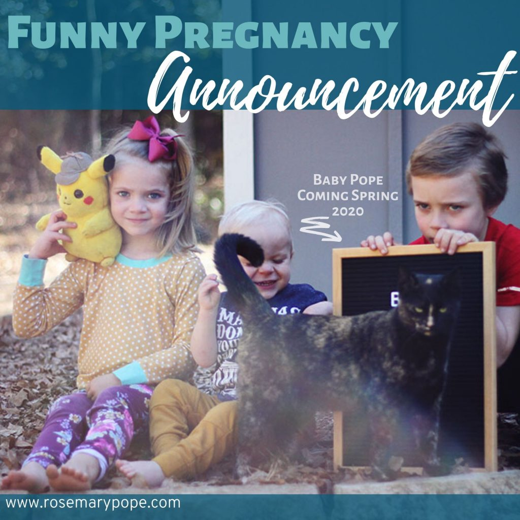 funny pregnancy announcement