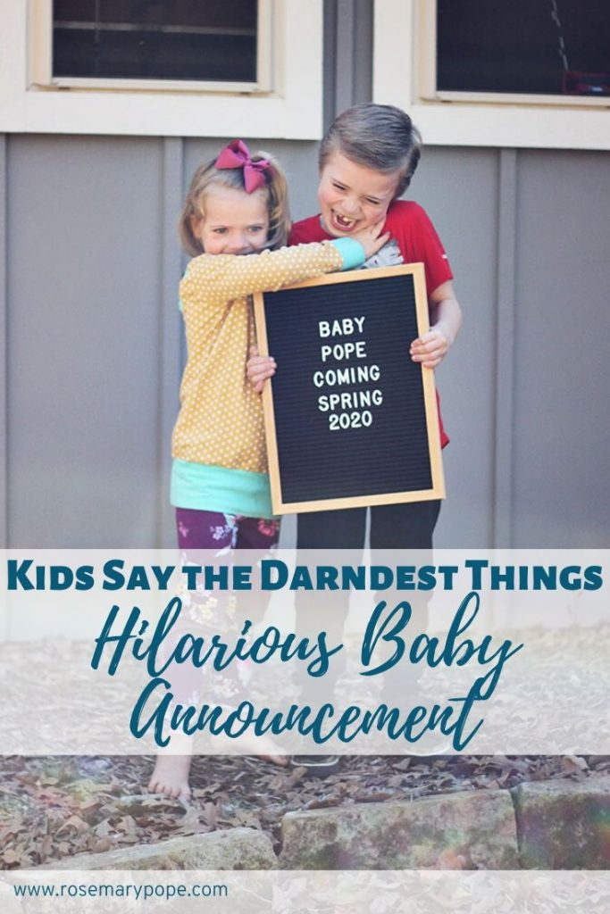 We videoed our kids surprise reaction to the news we were adding a new sibling to the family. If you are looking for a funny, cute pregnancy announcement video, look no further! #bigbrother #bigsister #letterboard