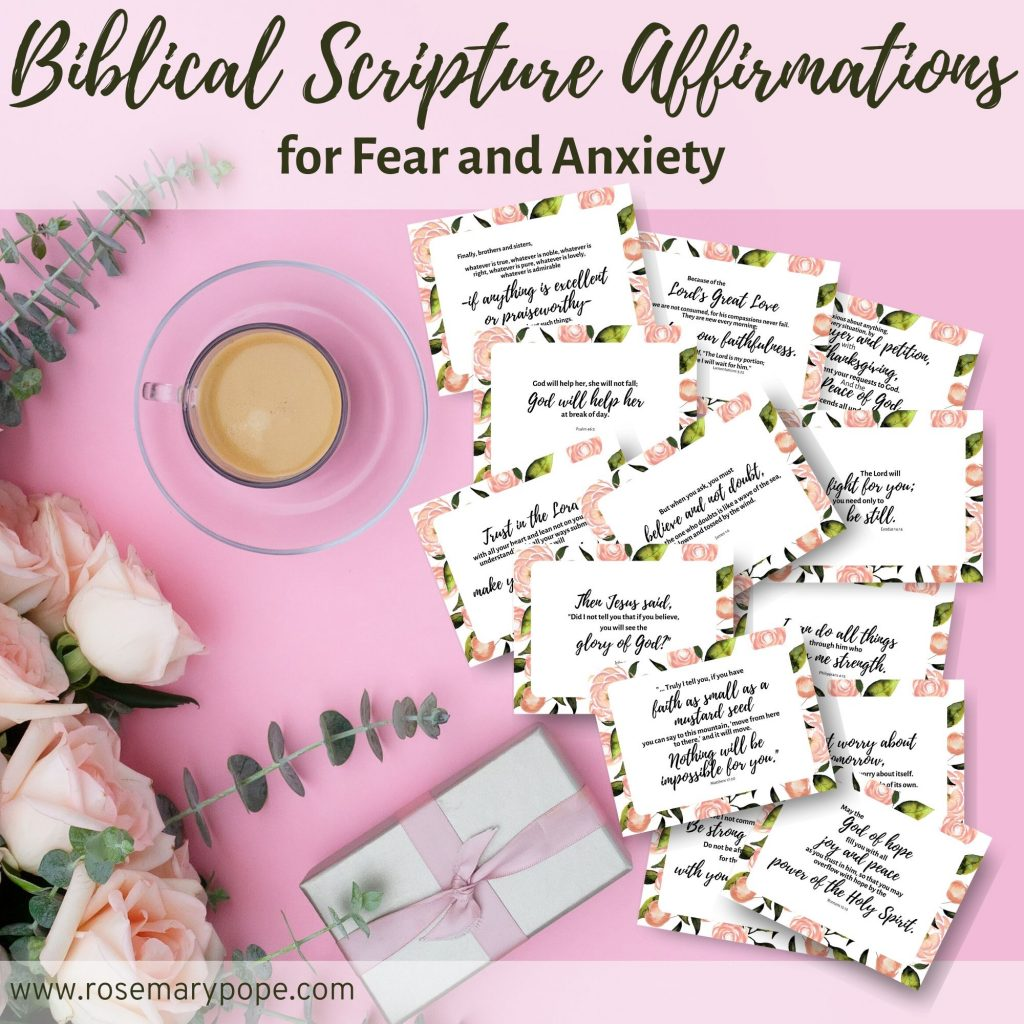 biblical scripture affirmations