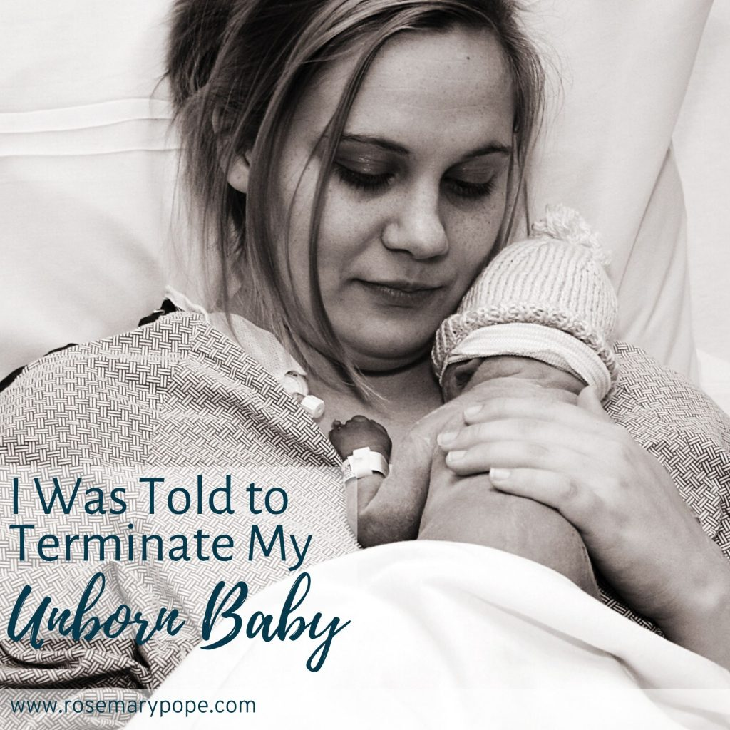 told to terminate unborn baby